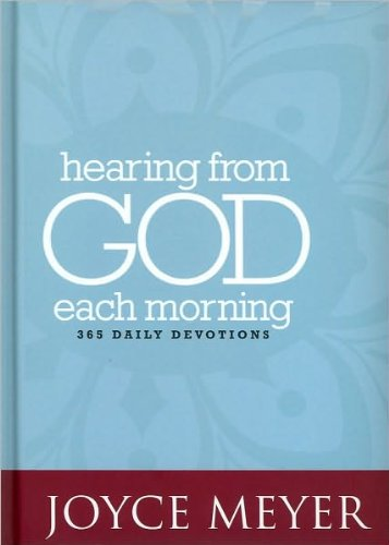 9780446568609: Hearing from God Each Morning: 365 Daily Devotions