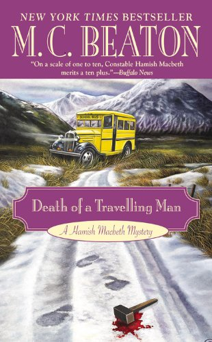 9780446573511: Death of a Travelling Man (A Hamish Macbeth Mystery)
