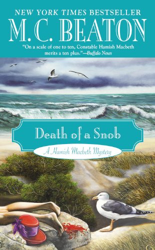 9780446573528: Death of a Snob (A Hamish Macbeth Mystery)
