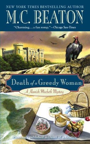 9780446573535: Death of a Greedy Woman (Hamish Macbeth)