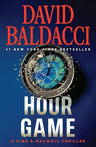 9780446577106: Hour Game (Large Print)