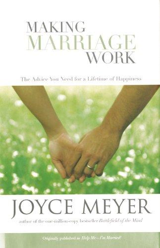 9780446577267: Making Marriage Work