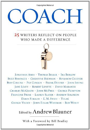 9780446577458: Coach: 25 Writers Reflect on People Who Made a Difference