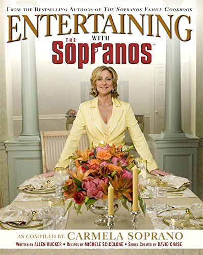 9780446579117: Entertaining With The Sopranos: A Guide to Special Occasions