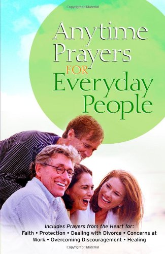 Anytime Prayers for Everyday People: No Author