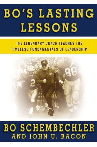 9780446581998: Bo's Lasting Lessons: The Legendary Coach Teaches the Timeless Fundamentals of Leadership