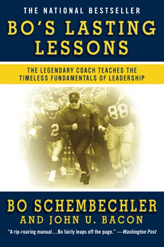 9780446582001: Bo's Lasting Lessons: The Legendary Coach Teaches the Timeless Fundamentals of Leadership