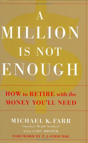 9780446582230: A Million Is Not Enough: How to Retire with the Money You'll Need