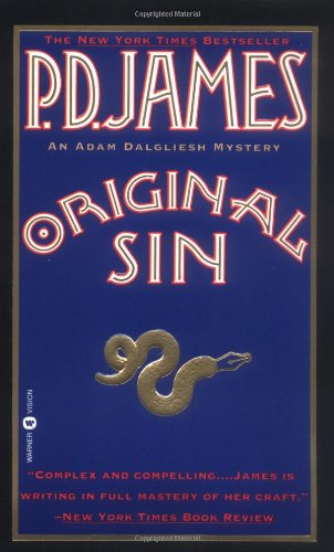 9780446602341: Original Sin (Adam Dalgliesh Mystery Series #9)