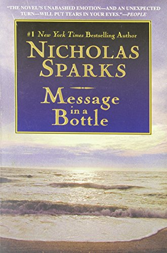 9780446606813: Message in a bottle message a la mer (un) (Roman)