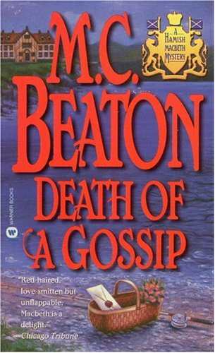 9780446607131: Death of a Gossip (Hamish Macbeth Mysteries, No. 1)