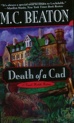 9780446607148: Death of a Cad (Hamish Macbeth Mysteries, No. 2)