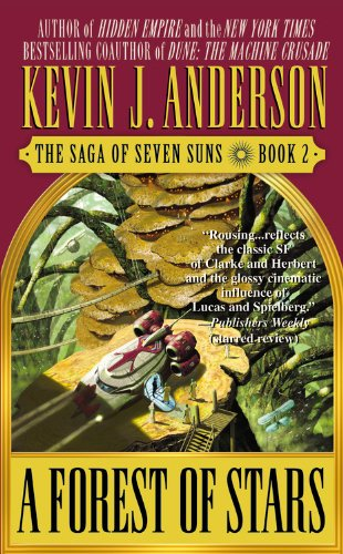 9780446610582: A Forest of Stars: The Saga of Seven Suns - Book #2