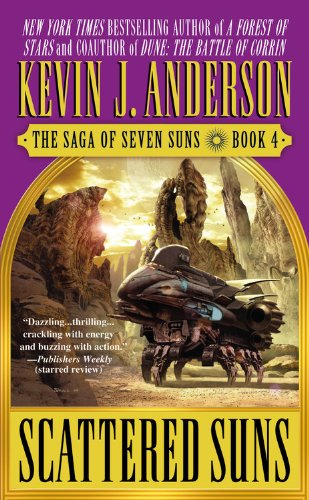 9780446615242: Scattered Suns: The Saga of Seven Suns, Book 4