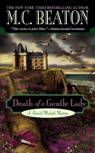 9780446615488: Death of a Gentle Lady (Hamish Macbeth Mysteries)