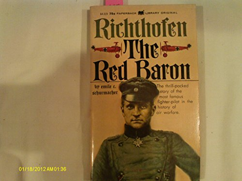 9780446659932: Richthofen: The Red Baron