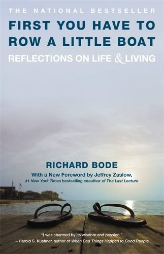 9780446670036: First You Have To Row a Little Boat: Reflections on Life and Living