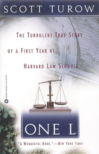 9780446673785: One L: The Turbulent True Story of a First Year at Harvard Law School