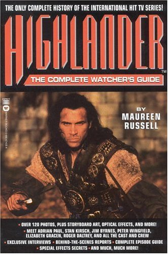 9780446674355: Highlander: The Complete Watcher's Guide