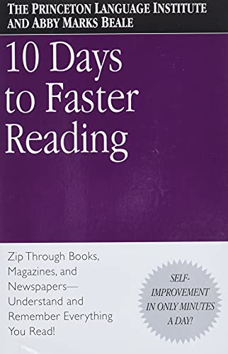 9780446676670: 10 Days to Faster Reading