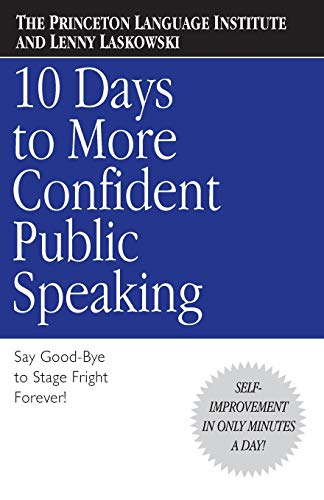 9780446676687: 10 Days to More Confident Public Speaking