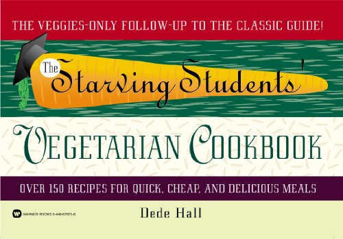 9780446676755: The Starving Students' Vegetarian Cookbook