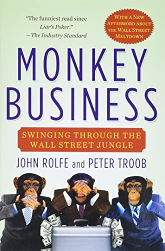 9780446676953: Monkey Business: Swinging Through the Wall Street Jungle