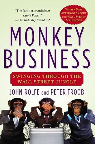9780446676953: Monkey Business: Swinging Through the Wall Street Jungle