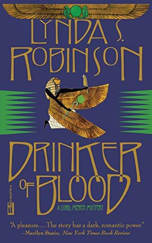 9780446677516: Drinker of Blood (Lord Meren Mysteries)