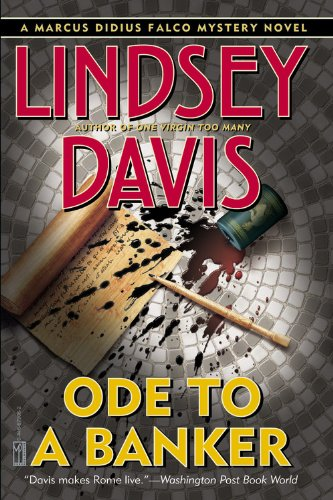 9780446679060: Ode to a Banker (A Marcus Didius Falco Mystery)