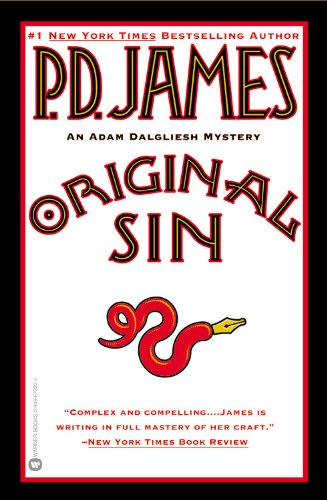 9780446679220: Original Sin (Adam Dalgliesh Mystery Series #9)