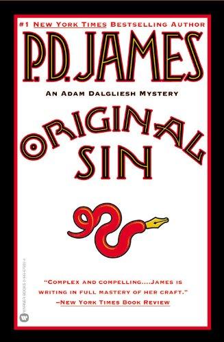 9780446679220: Original Sin (Adam Dalgliesh Mystery Series #9)
