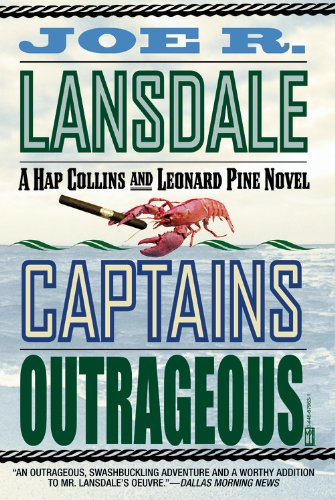 9780446679633: Captains Outrageous (Hap Collins and Leonard Pine Novels)