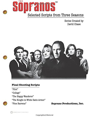 9780446679824: The Sopranos SM: Selected Scripts from Three Seasons
