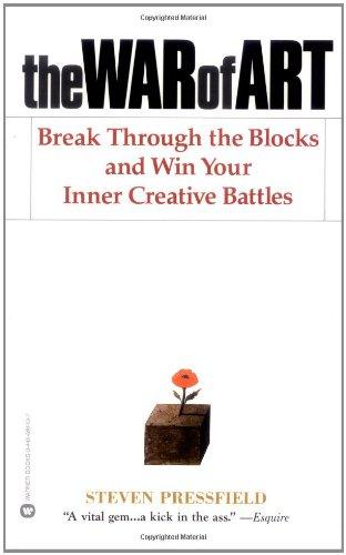 9780446691437: The War of Art: Break Through the Blocks and Win Your Inner Creative Battles
