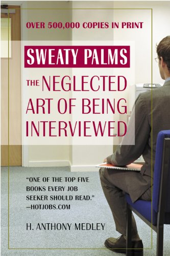 9780446693837: Sweaty Palms: The Neglected Art of Being Interviewed