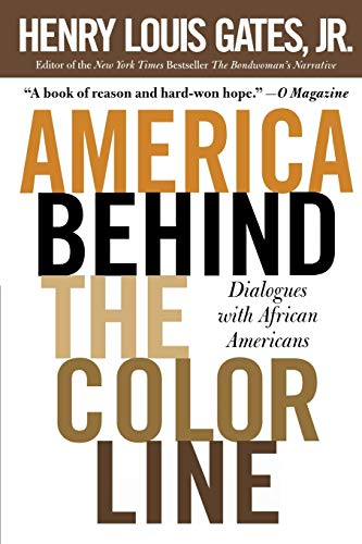 9780446693905: America Behind The Color Line: Dialogues with African Americans