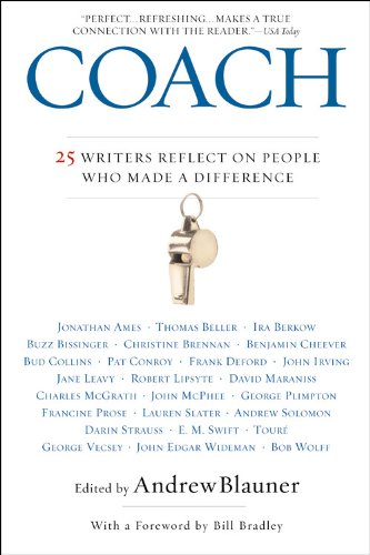 9780446694599: Coach: 25 Writers Reflect on People Who Made a Difference
