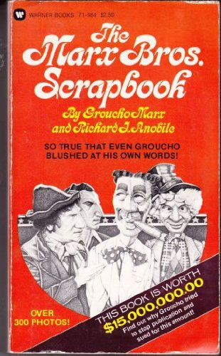9780446719841: The Marx Bros. Scrapbook