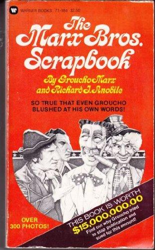 9780446719841: Marx Bros. Scrapbook