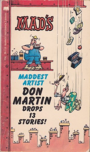 9780446741156: Mad's Don Martin Drops 13 Stories!