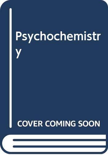 Psychochemistry (0446762113) by Paul Gillette; Marie Hornbeck