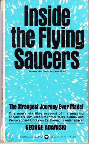 9780446766425: Inside the Flying Saucers