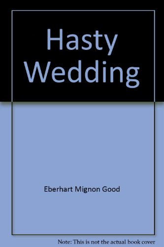 9780446778695: Hasty Wedding