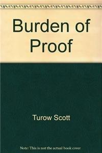 9780446791687: Burden of Proof
