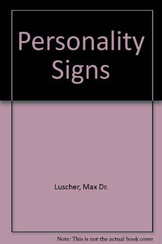 9780446813174: Personality Signs: How to Read a Person like a Book