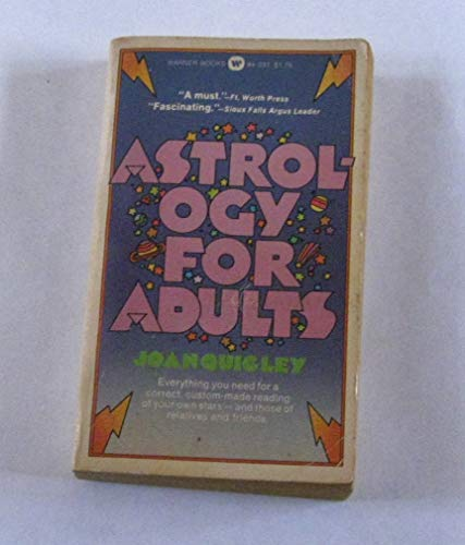 9780446816663: Astrology for Adults