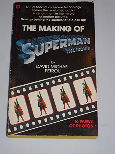 9780446825658: The Making of Superman the Movie