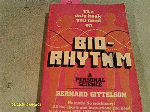9780446836272: Bio-Rhythm; A Personal Science