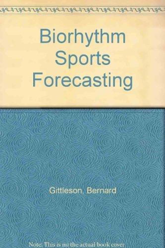 9780446837996: Biorhythm Sports Forecasting